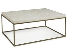 Shop for Kravet Brass/Crystal Stone Cocktail Table, OT801B/C, and other Tables at Kravet in New York, NY. Modernist Occasionals.