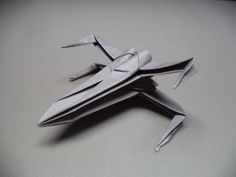 Learn how to make an X-Wing Starfighter from one square sheet of paper! This model is lots of fun to make, easy to fold, and looks way cooler than most other Origami X-wings out there. Learn it and…