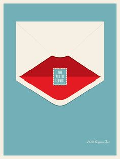 Jason Munn: The Postal Service Poster Series