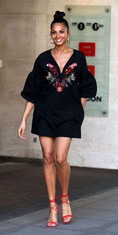 Look of the Day - Alesha Dixon from InStyle.com