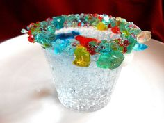 LEGO BIRTHDAY PARTY, Disposable, Rock Sugar Candy, Pre Rimmed Glasses, 5oz (6) #LEGO #AllOccasions