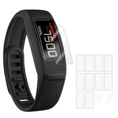 Cikishield-[10 pack]Garmin vivofit 2 Screen Protector Anti-Bubble Ultra HD  Touch Responsive Shield with Lifetime Replacements >>> Read more reviews of the product by visiting the link on the image.