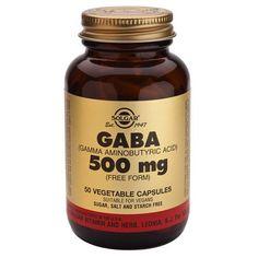 Gaba 500mg 50 cápsulas vegetales – Herbolario Oriente