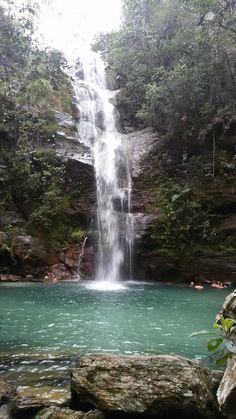 Cachoeira Santa Bárbara, Cavalcante - GO