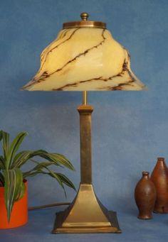 Grosse-original-Peil-amp-Putzler-Jugendstil-Salonleuchte-60-cm-1930-Schreibtisch UR 251,10 Table Lamp, Lighting, Ebay, Home Decor, Living Room, Art Nouveau, Table Desk, Writing, Light Fixtures