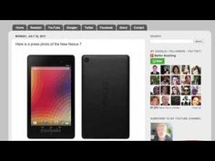 The New Nexus 7 with Android 4.3 soon here - YouTube
