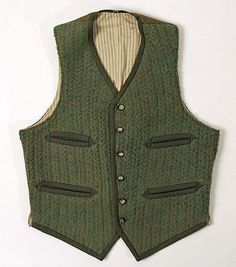 Vest 1900-1920 The Metropolitan Museum of Art - OMG that dress!