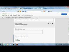 Tutorial para Crear Formularios en Google Drive - YouTube