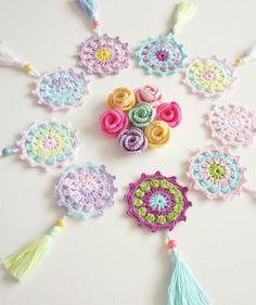 Best 12 pixels – Page 510032726522836760 – SkillOfKing. Crochet Mandala Pattern, Crochet Flower Patterns, Crochet Stitches Patterns, Crochet Doilies, Crochet Flowers, Love Crochet, Crochet Gifts, Beautiful Crochet, Crochet Brooch