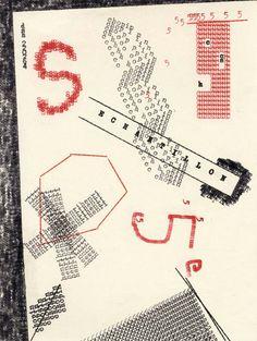 Dom Sylvester Houédard (monje italiano) - La forma de la poesía / 2 - 'Typestracts'