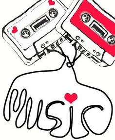 I think cassette tapes are so cool! Music Is My Escape, I Love Music, Music Is Life, Leo Tattoos, Music Writing, Music Images, Imagines, Vintage Love, Music Lovers