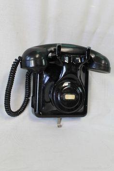 TELEFONO DE PARED ANTIGUO (Teléfonos - Teléfonos Antiguos)
