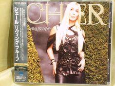 CD/Japan- CHER Living Proof +1 bonus trk w/OBI RARE 2001 WPCR-10923 #LatinPopElectroSynth