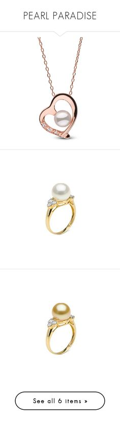 """""""PEARL PARADISE"""" by ahmady ❤ liked on Polyvore featuring jewelry, rings, white, sparkle jewelry, white pearl jewelry, pearl jewelry, 18 karat white gold ring, 18k jewelry, 18 karat gold ring and 18 karat gold jewelry"""