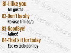 Spanish Phrases, Spanish Language Learning, English Vocabulary Words, English Phrases, Learn English Words, Spanish Words For Beginners, Learn Spanish Free, Learn To Speak Spanish, English Writing Skills
