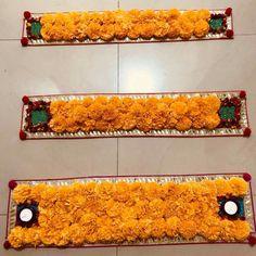 47 Ideas For Flowers Arrangements Decor Candles House Party Decorations, Festival Decorations, Flower Decorations, Diwali Decoration Items, Thali Decoration Ideas, Rangoli Border Designs, Rangoli Designs Diwali, Diwali Rangoli, Diwali Diy