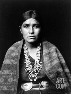 Navajo Woman, C1904 Photographic Print by Edward S. Curtis at Art.com