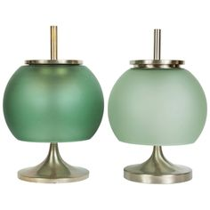 1960s Emma Gismondi Schweinberger 'Chi' Table Lamps for Artemide | From a unique collection of antique and modern table lamps at https://www.1stdibs.com/furniture/lighting/table-lamps/