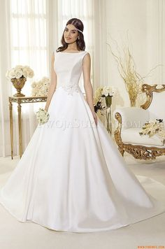 Vestidos de noiva Delsa P7411 Perle di Delsa 2014