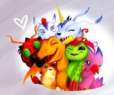 Digimon by Super-Cute.deviantart.com on @deviantART