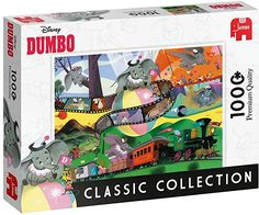 Amazon.com: Jumbo 18824 Disney Classic Collection-Dumbo 1000 Piece Jigsaw Puzzle, Multi: Toys & Games