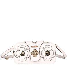 Nicole Lee Dimensional Laser Cut Flower Mini Crossbody Bag, Women's