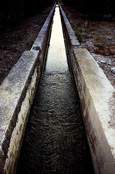 Concrete Irrigation Canal.
