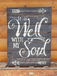 It is Well with my Soul - Big DIY Ideas