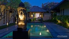 Pool villa for two in Seminyak, Bali.
