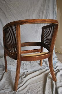 Strawberry Roan: Cane Chairs Completed!