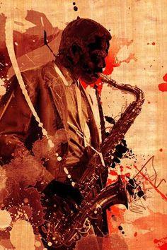 My soul sings through my saxophone