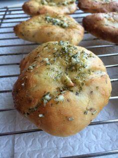 Knoblauch-Brotfladen