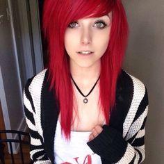 Hair goals! I love Alex