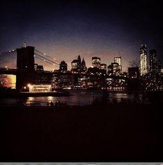 DUMBO Brooklyn at night | Brooklyn Bridge