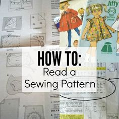 Commercial sewing patterns can be hard to understand. Learn how to read a sewing pattern with these easy steps. Each part is broken down into simple terms.