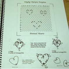 wire jig patterns | Wonderful, Wearable Wire Book: Wigjig Patterns | shinysupplies - Books ...