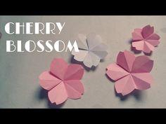 Origami Flower Bowl Tutorial ♥︎ DIY ♥︎ Paper Kawaii - YouTube