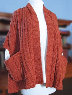 Knitting Pattern For A Shawl With Pockets : 1000+ images about Shawl Knitting Patterns on Pinterest Knitting patterns, ...