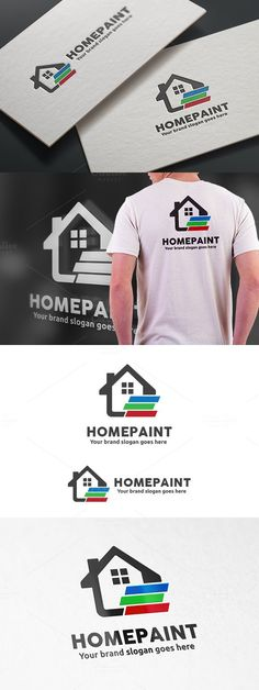 Home Paint Logo. Logo Templates. $29.00