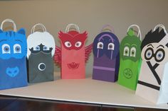 Pj Mask Inspired Goody Bags by LoluParty on Etsy