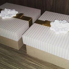 Lindas caixas convite de padrinhos  #caixapersonalizada #mdf #caixaconvite #padrinhos #batizado #tudolindo