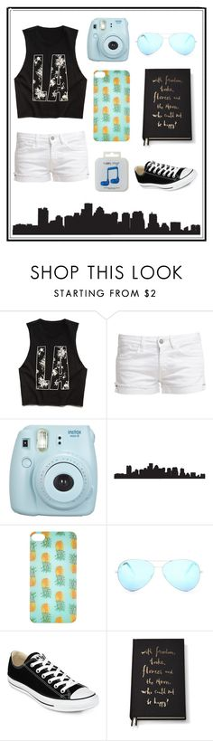 """""""#63 random ;)"""" by xjet1998x ❤ liked on Polyvore featuring Forever 21, Le Temps Des Cerises, Fujifilm, Accessorize, Victoria Beckham, Converse, Kate Spade and Happy Plugs"""