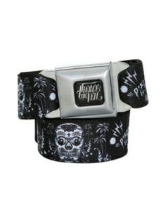 Pierce The Veil Sugar Skull Seat Belt Belt