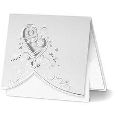 F1004 esküvői meghívó Wedding Cards, Wedding Invitations, Wedding Engagement, Marie, Crafty, Inspirational, Wedding Ideas, Collections, Dress