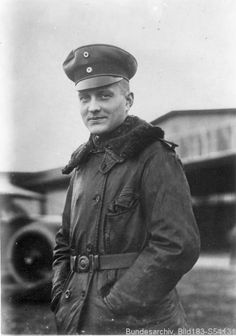 """Manfred von Richthofen, better known as the """"Red Baron"""". He scored the most kills in World War I and is arguably the most famous flying ace of all time. Manfred Von Richthofen, Ww1 History, Military History, Luftwaffe, World War One, First World, Kaiser Wilhelm, Flying Ace, German Uniforms"""