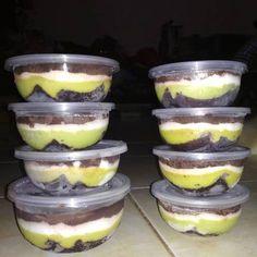 Brownies Alpukat lumer hits Cheesecake, Chocolate Ganache, Tiramisu, Brownies, Almond, Pudding, Cooking, Ethnic Recipes, Desserts