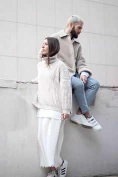 35+ Creative Couple Fashion Photography Outfits Ideas to Make Best Photoshoot - Bong Pret