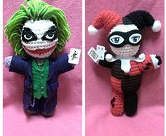 Harley Quinn and Joker by NerdDollz. Inspiration