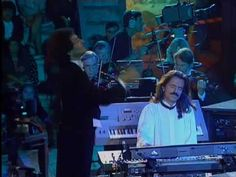 Live show of Yanni at the Acropolis   Title: Aria