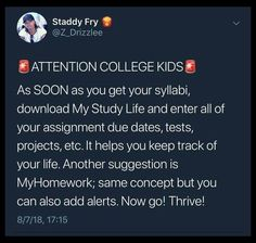 The key to academic success in college is practicing time management and having excellent study skills. Discover techniques of note taking, how . High School Hacks, College Life Hacks, Life Hacks For School, School Study Tips, College Tips, College Ready, School Life, Studyblr, School Goals